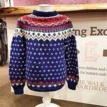 Vintage Nordic knit.