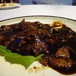 Beef in Peppar Sauce
