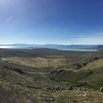 Mono Lake and Mono Basin seen from the Mono Lake Vista Point on US-395