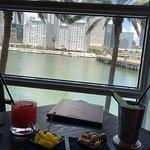 Cocktails avec vue sur Miami