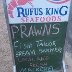 When on Straddie the place to go for delicious seafood.