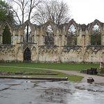 Ruiny kościoła.