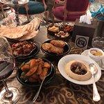Our delicious Mezze feast.