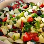 Ma Shaa Allah Cafe' salad bar