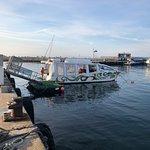Whale Watchers im New Harbour, Hermanus