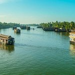 Kerala Backwater Village view from top