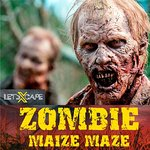 Book our Zombie Maze at www.letsxcape.co.uk/zombie-maize-maze