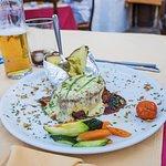 Maten vi bestilte. Foto: Henrik Torjussen