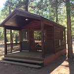 Our cabin that we rented