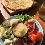 Starter and focaccia