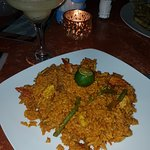 Seafood fried rice at Art Cafe