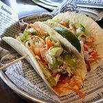 Slightly bland Buffalo Wing Tacos