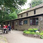 The cafe at The Longshaw Estate