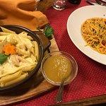 Alpine pasta and spaghetti