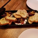 Whipped Goat Cheese . Fig & Cranberry Chutney . Rosemary Crostini