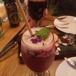 Scout Sangria . Vodka . Berries . Orange . Lemon . Rose' (and the Panhead Black Top Oat Stout)