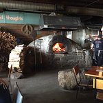 Pizza oven inside