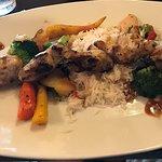 Grilled monkfish