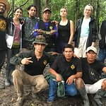 Group Photo During the Tahuayo Wildlife Exploration Circuit Route