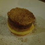 La crema inglese di questo meraviglioso dessert è stata fatta seguendo un'antica ricetta della c