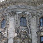 Justizpalast - the facade, detail