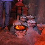 Freshly cooked traditional tagine.