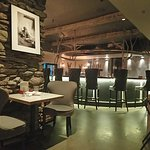 The lovely bar area