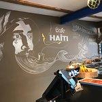 Bilde fra Cafe Haiti
