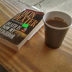 Turkish coffee and a good read.