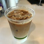 delicious iced latte after exploring Bodega Bay