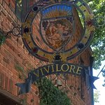 Vivilore - outdoor sign above entrance