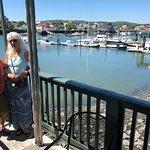 The marina, from the veranda