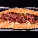 Spicy Pulled Beef Sub