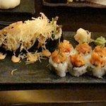 Sushi and maki rolls