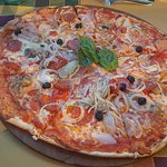 Huge pizza for sharing