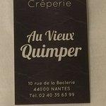 Au Vieux Quimperの写真