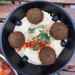 Hummus a la falafal