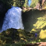 Фотография Sahalie and Koosah Falls