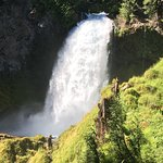 Sahalie and Koosah Fallsの写真