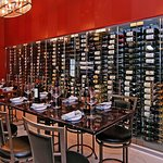 Our wine room can be booked for up to 12 people for dinner and up to 14 for a wine tasting!