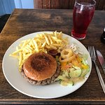 Lovely homely pub,friendly service and great food as you can see