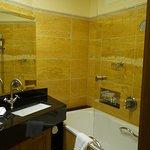 Bathroom with Bvlgari toiletries