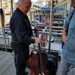 Andrea's friend the cellist.