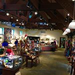 A wide variety of local art, crafts and literature is available.