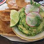 Perfect guacamole and chips