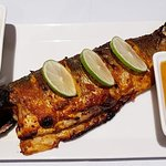 Tandoori Seabass... Perfectly cooked... 😍 Must try...!!
