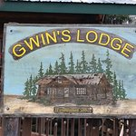 Gwin's Lodge Sign