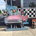Pink Cadillac Diner Foto