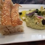 Chef's butterbean hummus is simply fabulous!