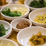 Miso paste and banchan